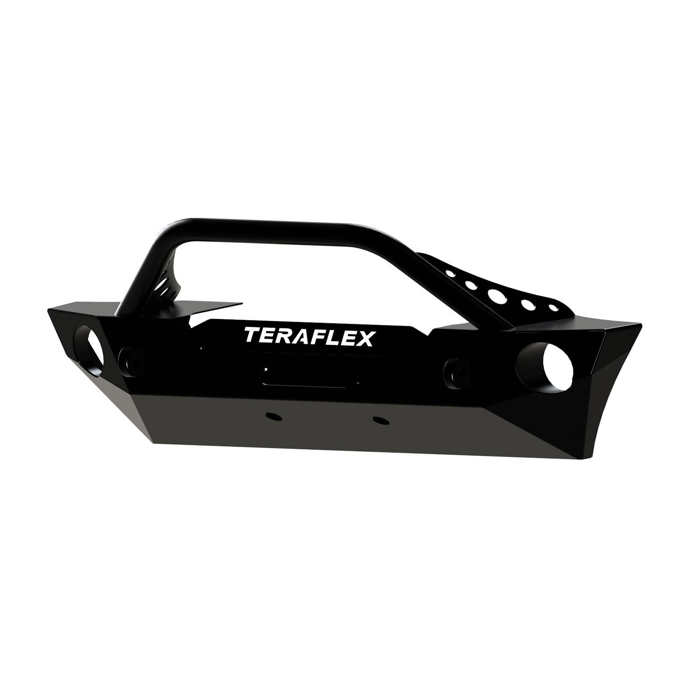 Teraflex Black Laber岩石护栏中置绞盘前杠
